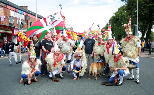 The Feile Party in the park and parade take place in west Belfast on August 11th 2018 (Photo by Kevin Scott for Belfast Telegraph)