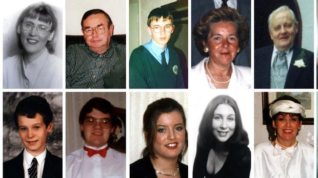 victims of the Omagh bombing (PA)