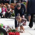 The 20th anniversary of the Omagh bomb was held in the memorial garden in Omagh. PICTURE MATT BOHILL PACEMAKER