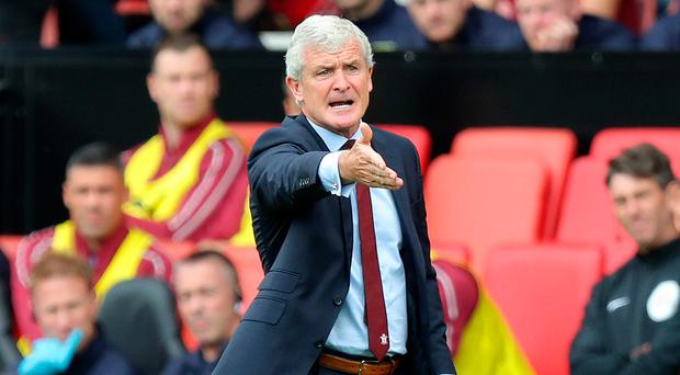 Old warhorse: Mark Hughes was unhappy with his team