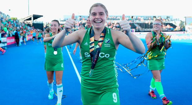 Thumbs up: Ireland captain Katie Mullan is moving to Germany.