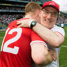 Big goal: Mickey Harte is keen to win his fourth All-Ireland title