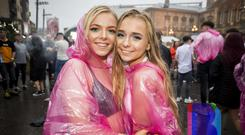Music fans out to see DJ Ben Nicky at 2018 CHSq at Custom House Square, Belfast. Saturday 11th August 2018. Picture by Liam McBurney/RAZORPIX