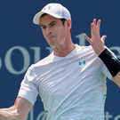 Over and out: Andy Murray slips to defeat in Cincinnati