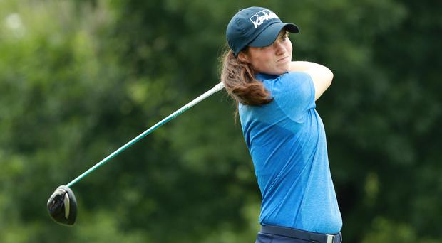 Leona Maguire takes first win of her professional golf career