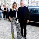 Robbie Williams and wife Ayda Williams (Ian West/PA)