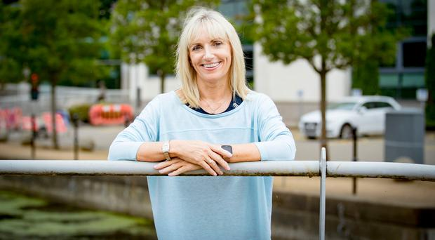 Healthy outlook: Yvonne McGarrity