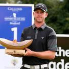 Champ: Robin Sciot-Siegrist winner ofthe 2017 NI Open