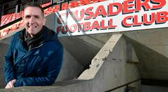 New job: Stephen Baxter is relishing his 'new' role at Seaview