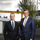 Michael Chissick, managing partner Fieldfisher with Alastair Hamilton, chief executive of Invest Northern Ireland.