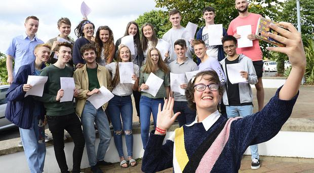 More boys than girls have achieved the top A-Level grade in Northern Ireland for the first time. Picture By: Arthur Allison.