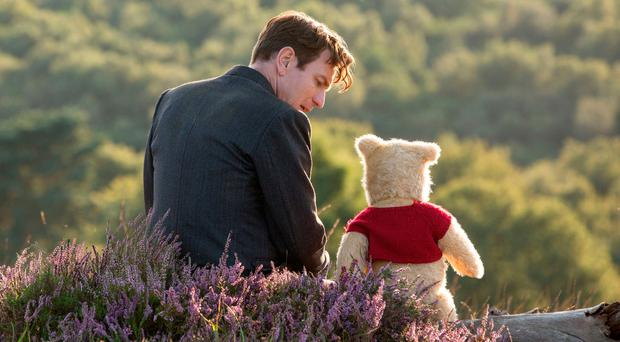 Charming story: Ewan McGregor as Christopher Robin