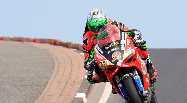 Clear aim: Glenn Irwin is keen to bounce back after a poor Thruxton