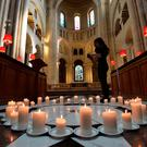 Remembering Omagh: prayers are said at St Anne's Cathedral, Belfast, on the 20th anniversary of the bombing