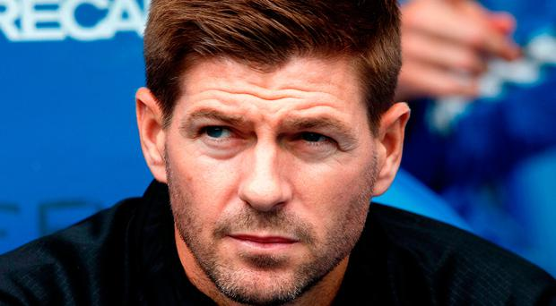 Bring it on: Steven Gerrard can see confidence growing