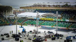 General views of The National Stadium at Windsor Park in South Belfast ahead of Frampton v Jackson on August 17th 2018 (Photo by Kevin Scott for Belfast Telegraph)
