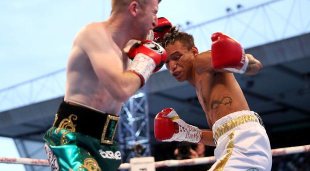 Paddy Barnes lost out to Cristofer Rosales in their WBC Flyweight Title fight.