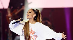 Ariana Grande said the challenge was not to be overwhelmed by fear