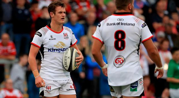 Billy Burns will make his competitive Ulster debut.