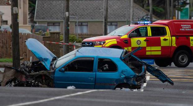 Man arrested after Bundoran crash