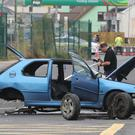 Two people died in the accident (Niall Carson/PA)