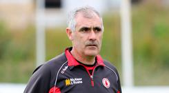 Final lap: Gerry Moane believes Tyrone can win All-Ireland title