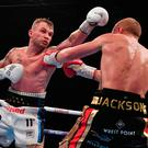 Within reach: Carl Frampton turns up the heat on Luke Jackson