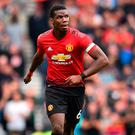 Poor focus: Paul Pogba
