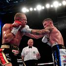 Carl Frampton's devastating eighth round punch is the hardest Luke Jackson has ever been hit.