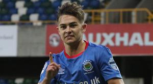 Jordan Stewart looks to be on his way out of Linfield.