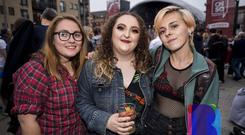 Music fans out to see Kasabian at CHSq, Belfast. Monday 20th August 2018. Picture by Liam McBurney/RAZORPIX