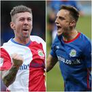 Daniel Kearns and Joel Cooper have made bright starts to their Linfield careers.