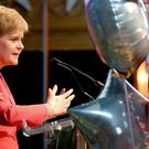 Nicola Sturgeon will be among those welcoming delegates at an opening event (Jane Barlow/PA)