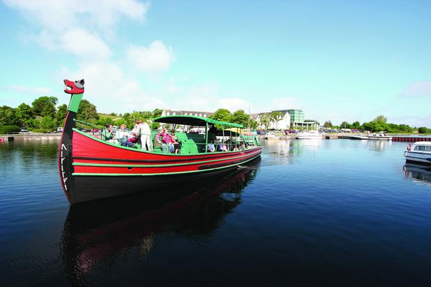 Take a Viking Boat Tour along Lough Ree to learn about the town's history with the vikings dating back to the year 842.