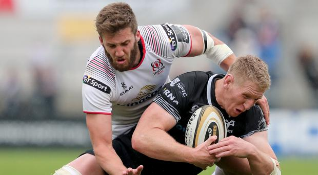 Trophy chase: Stuart McCloskey has pledged his future to Ulster by signing a new contract