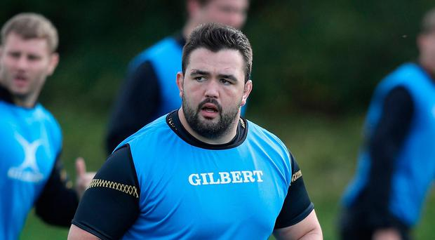 Quick return: Marty Moore will make his first Ulster start against former team Wasps