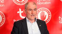No go: Tyrone boss Mickey Harte hasn't spoken to RTE since 2011