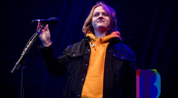 Lewis Capaldi performing at Custom House Square, Belfast for CHSq presents. Thursday 23rd August 2018. Picture by Liam McBurney/RAZORPIX