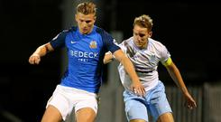 Glenavon and Ballymena United will both play in next season's SPFL Challenge Cup.