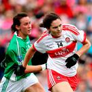 On form: Megan Devine of Derry