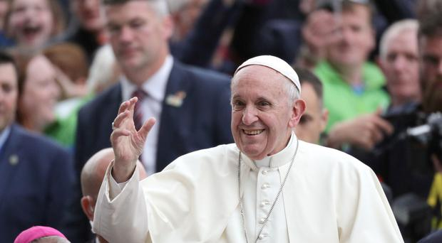 Pope Francis will lead a huge outdoor Mass (Aaron Chown/PA)