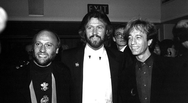 The Bee Gees' guitars are expected to fetch over £10,000 when they are auctioned on September 12 (PA)