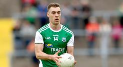 On target: Conall Jones played a key role for Derrygonnelly