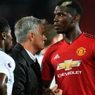 Jose Mourinho has a job on his hands after his Manchester United side lost their second Premier League game in a row.