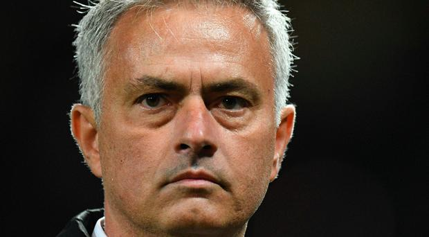 Jose Mourinho was far from happy at the end of his post-match press conference.