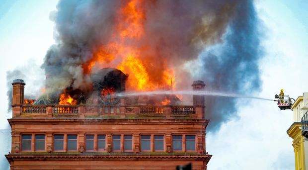 Major fire at Primark store in Belfast city centre