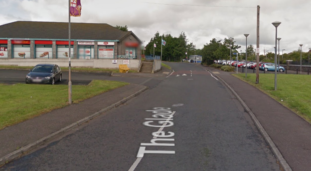 The Fire Service are dealing with a gas leak at shops in Mossley. Credit: Google.