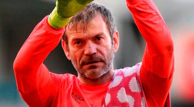 Roy Carroll is the top scoring player so far with 24 points.