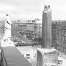 The bombing of Nelson's Pillar in Dublin in 1966
