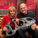 TV royalty: Ralph catches up with the Beeb wildlife presenter and host of the show Michaela Strachan.
